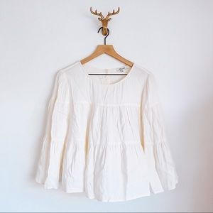 Madewell Blouse White Size XL